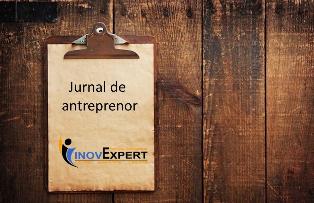 Jurnal de antreprenor          part #8