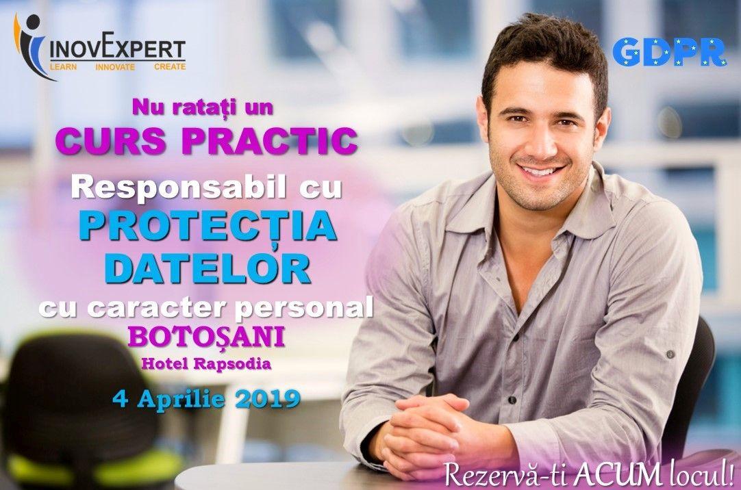 Sesiune de instruire practica pentru DPO la Botosani, 04 aprilie 2019