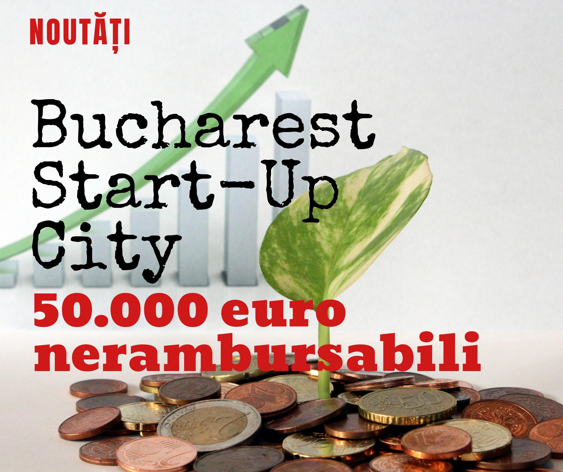 Bucharest Start-up City – 50.000 euro pentru afaceri noi