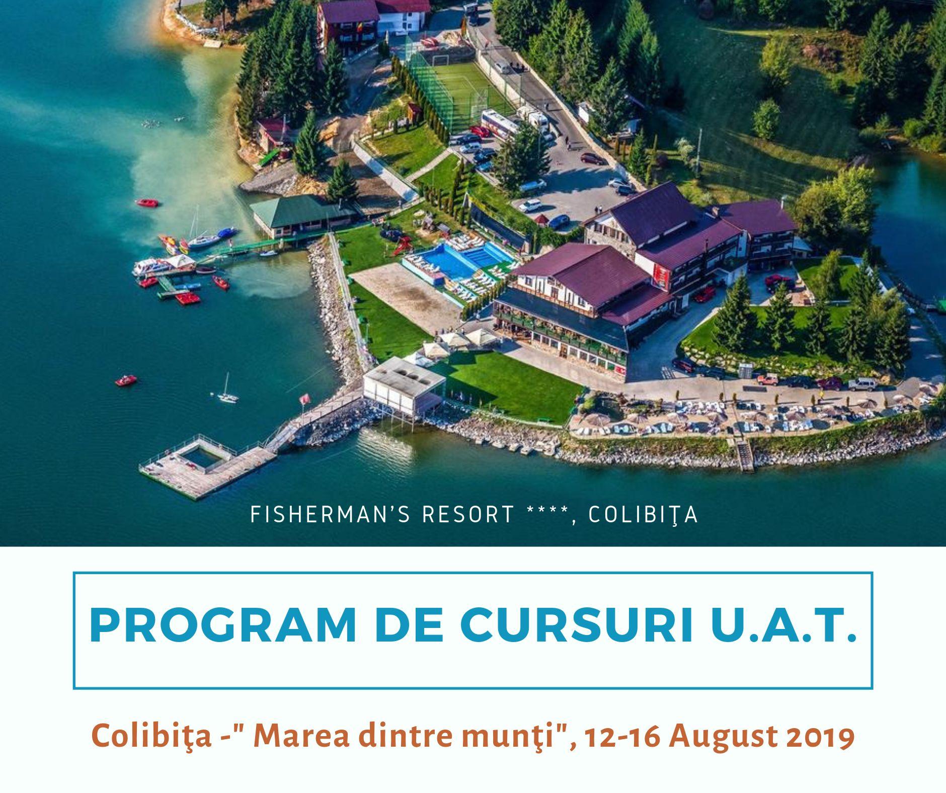 In luna august ne vedem la Colibita la cele 3 cursuri dedicate functionarilor publici!